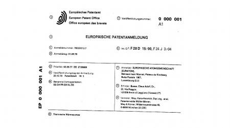 40 ans de publication de demandes de brevet par l'OEB