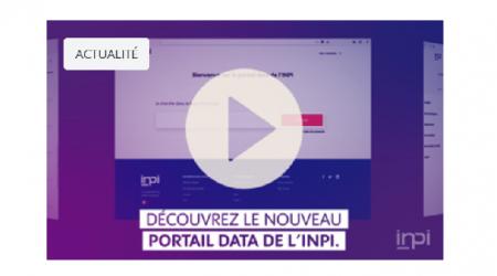 Nouveau portail DATA de l'INPI